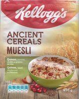 ANCIENT CEREALS MUESLI - Product - fr