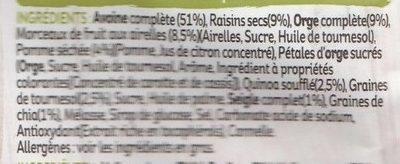 ANCIENT CEREALS MUESLI - Ingrediënten - fr