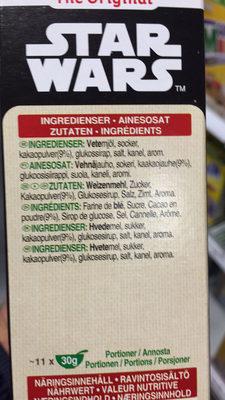 Star Wars - Ingredienti - fr