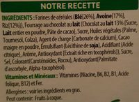 tresor - Ingrédients - fr