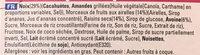Extra Barre généreuse Amandes grillées et Cranberries - Ingredients