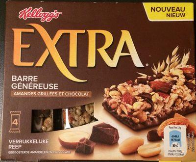 Barres chocolatées aux amandes - Product