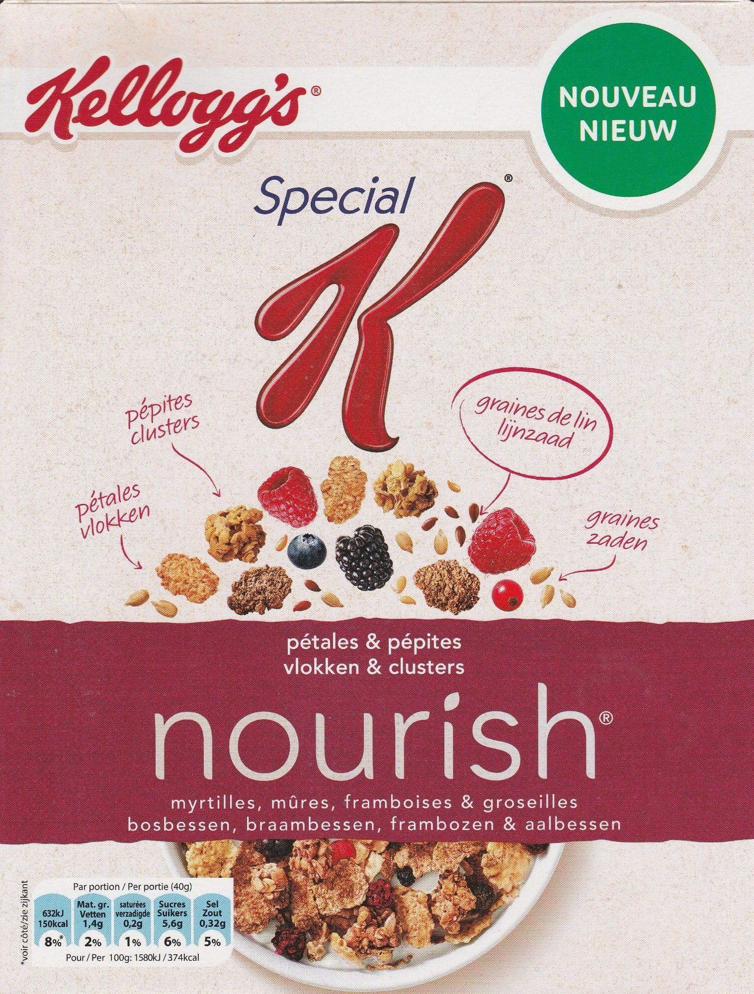 Special K nourish - myrtilles, mûres, framboises & groseilles - Product