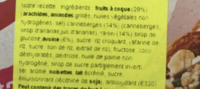 Barrette Mandorle Frutta GR128 - Producto - fr