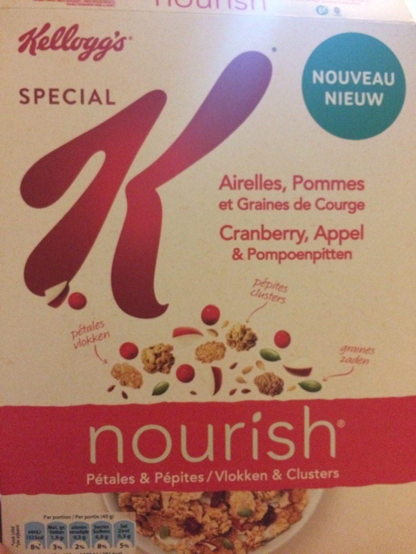 Nourish Pétales & pépites - airelles, pommes et graines de courge - Product