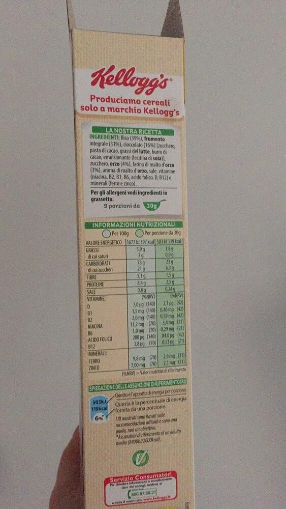 Cereali Spec. k. cio / Fon. gr290 - Voedingswaarden