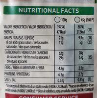 Extra fruit - Información nutricional - it