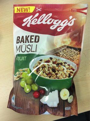 Baked Müsli, Fruit - Product