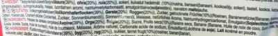 Baked Müsli, Fruit - Ingredients