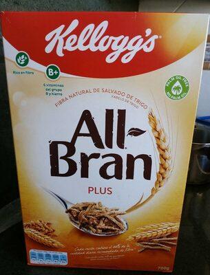 All-Bran plus - Producto - es