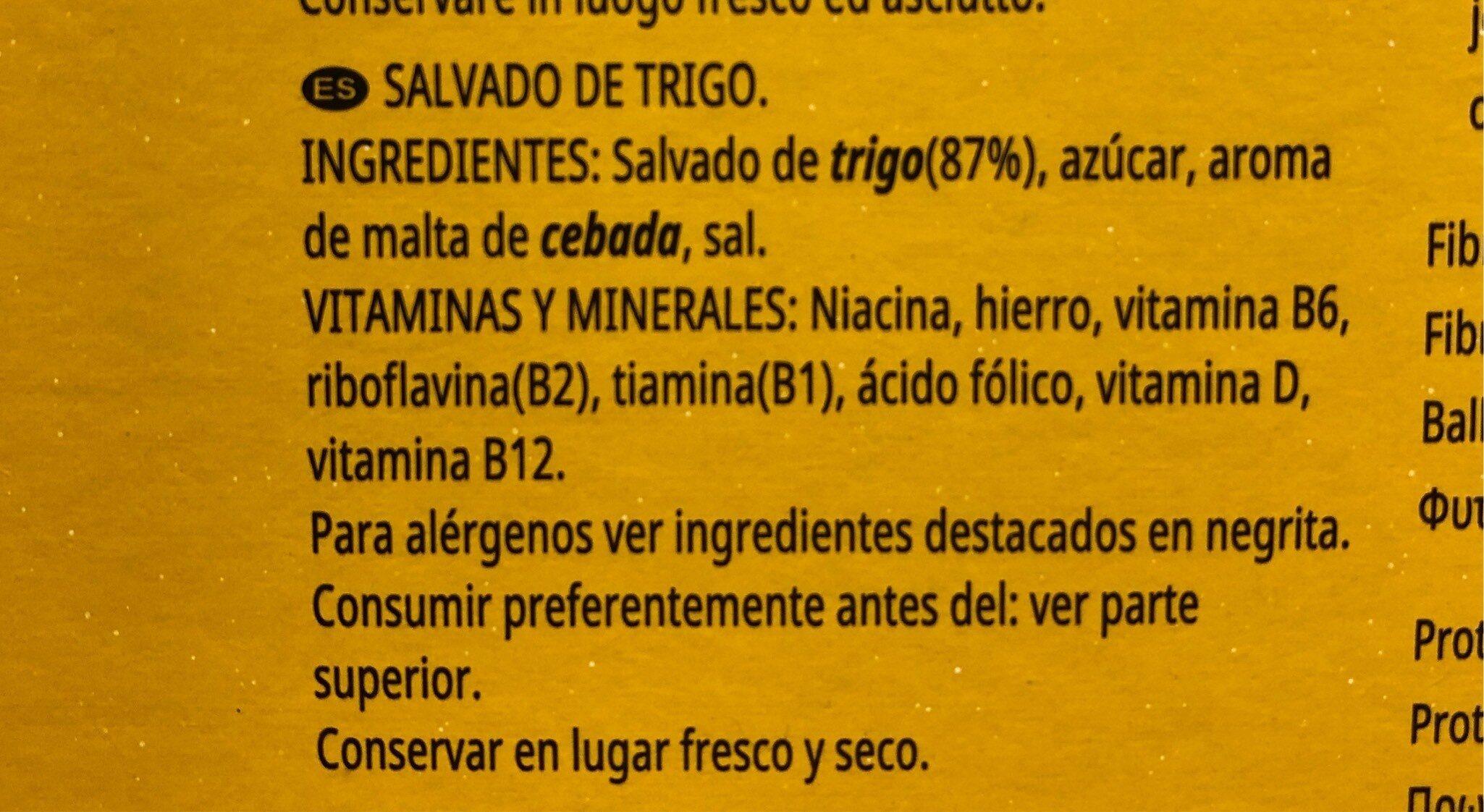 All-Bran plus - Información nutricional - es