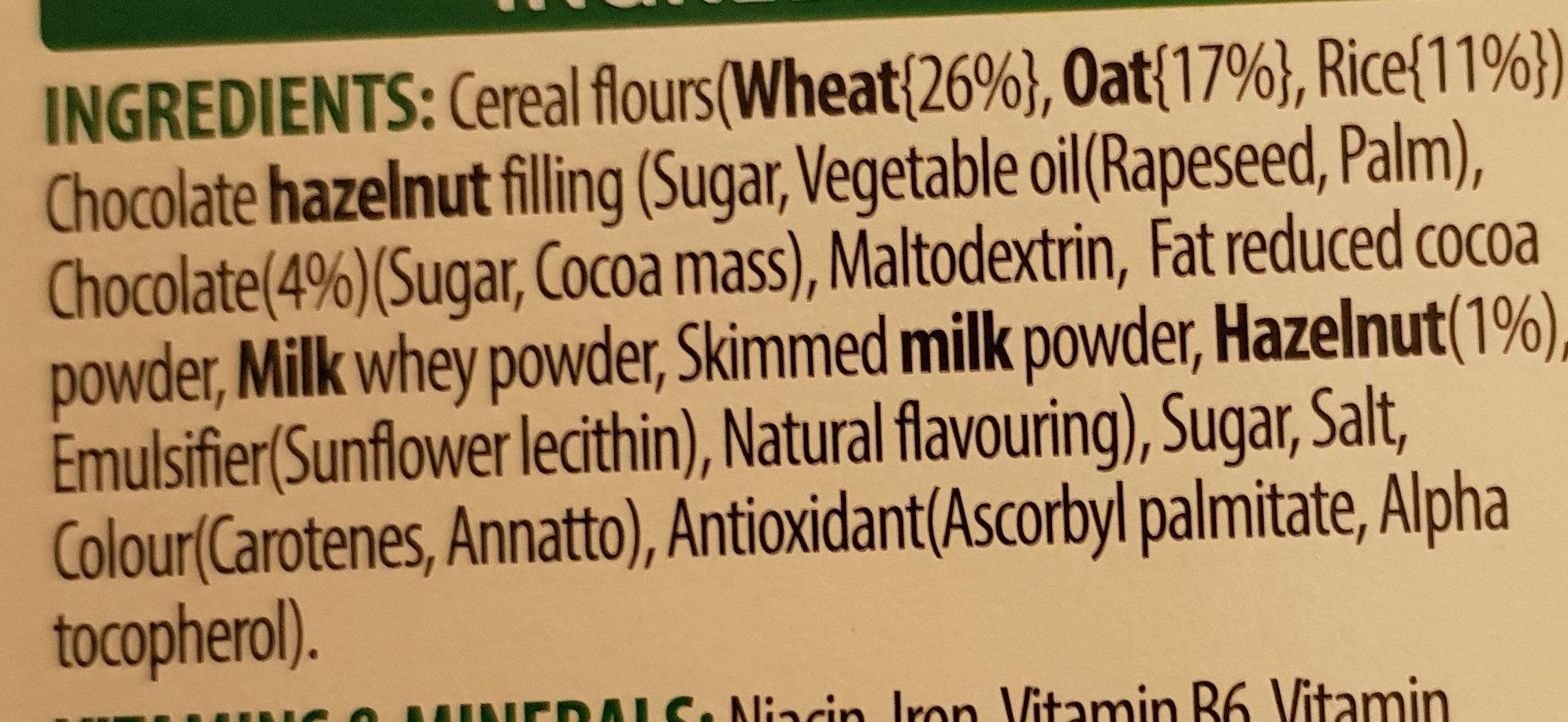 Krave Chocolate Hazelnut - Ingrediënten - en