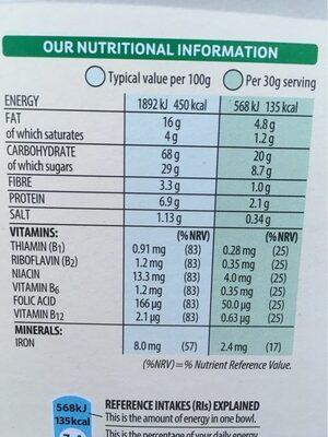 Krave Chocolate Hazelnut - Voedingswaarden - en