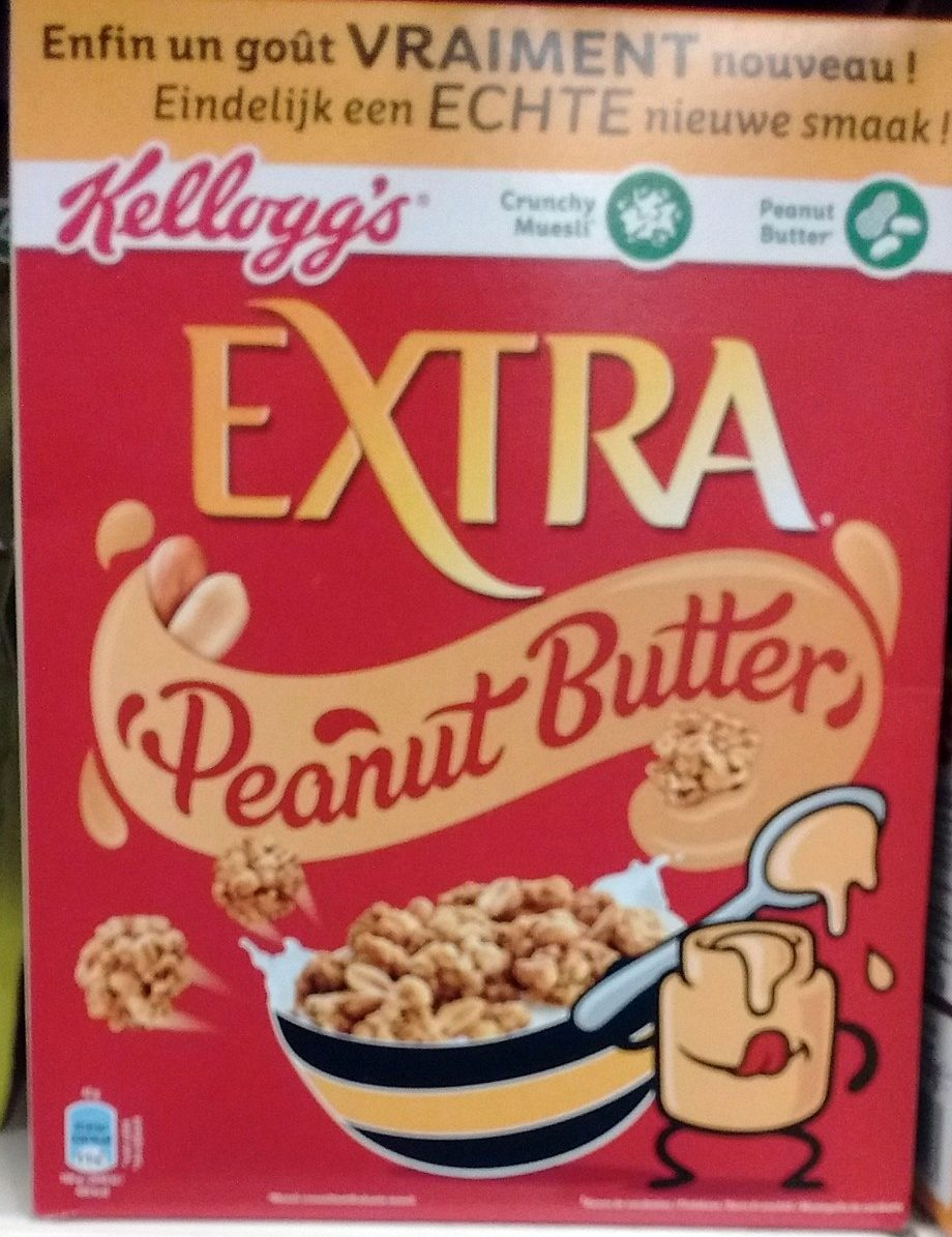 Extra peanut butter - Product