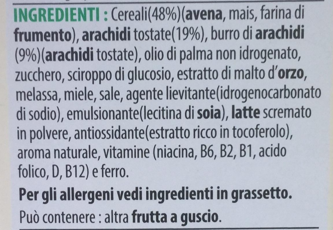 Extra peanut butter - Ingredienti