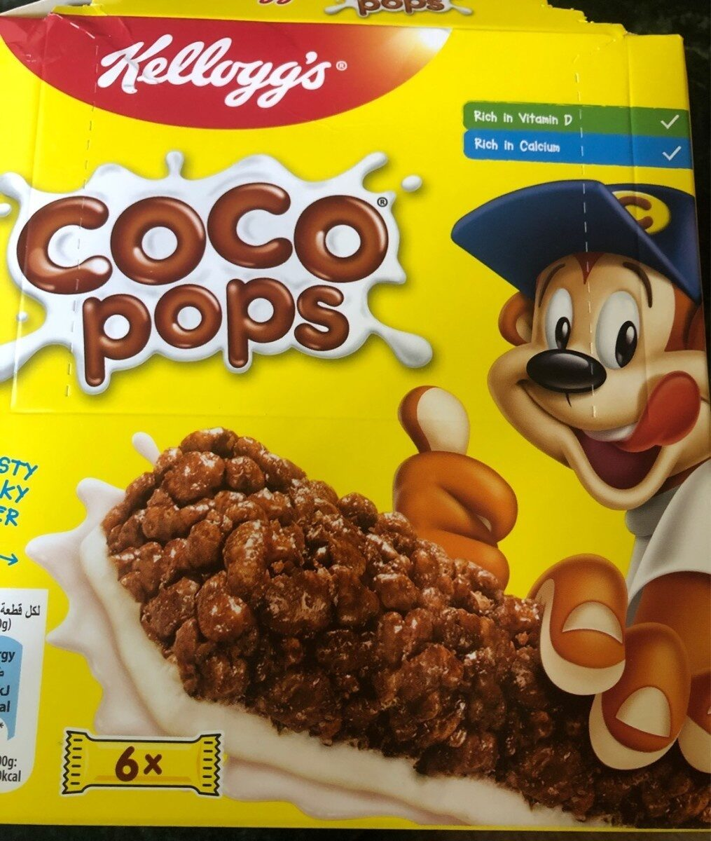 Barre de cereales coco pops - Produit - fr