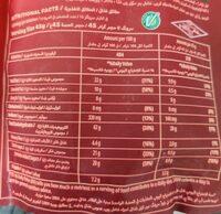 Granola Classic Oat Clusters - 营养成分 - en