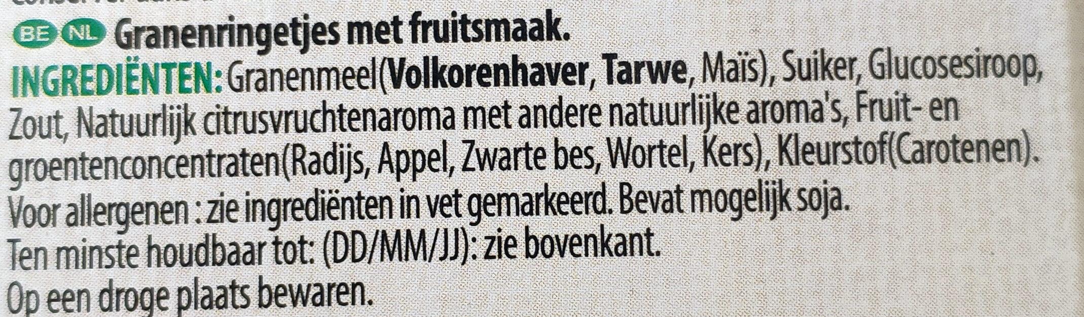 Unicorn froot loops - Ingrediënten - nl