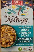 Crunchy Müsli Coconut & Cashew - Product - de