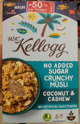 Crunchy Müsli Coconut & Cashew - Prodotto