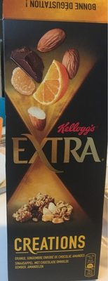 Kellogg's Extra Creations - Orange, gingembre enrobé de chocolat et amandes - Product