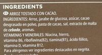 Choco Krispies - Ingrédients - fr