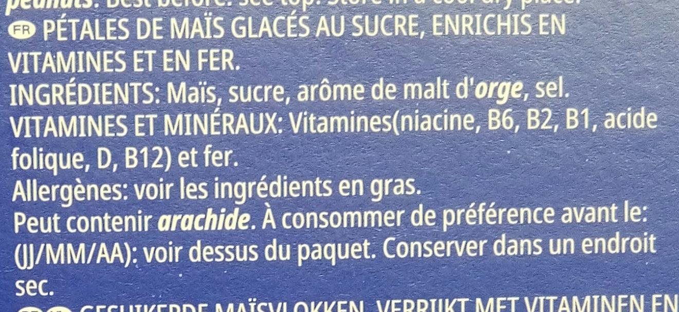 Frosties - Ingredients - fr