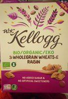 Wholegrain wheats raisin - Produit