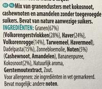 W.K Kellogg - Ingrediënten - nl