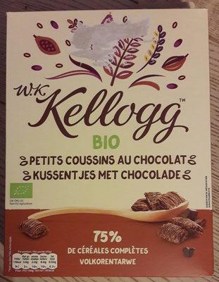 W.K Kellogs bio petits coussins au chocolat - Product