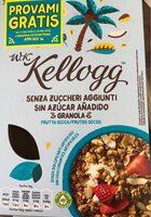 Sugar-free nutty granola - Producto - es