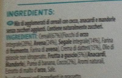 Senza zuccheri aggiunti - Ingredientes