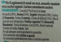 Granola senza zuccheri aggiunti - frutta secca - Ingredienti - it