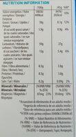 Granola sin azúcares añadidos - Informação nutricional - es