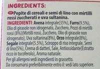 Super foods granola - Ingredients - it