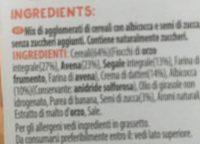 Muesli Croustillant Abricot & Graines de Courge - Ingredienti