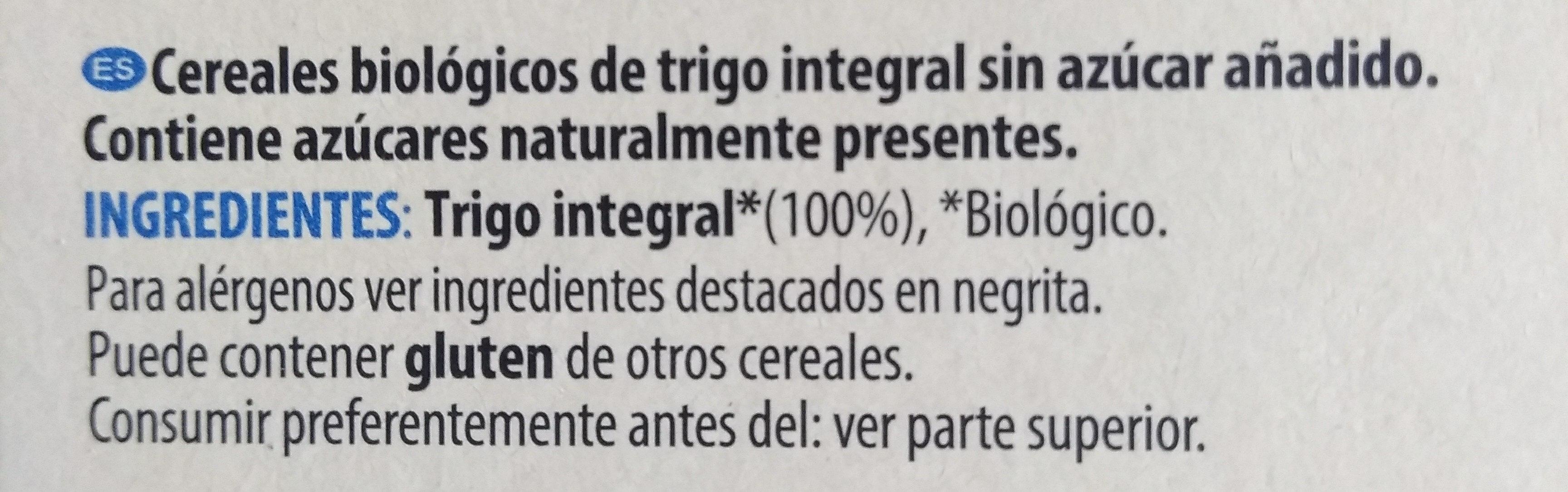 Cereali integrali original - Ingredientes - es
