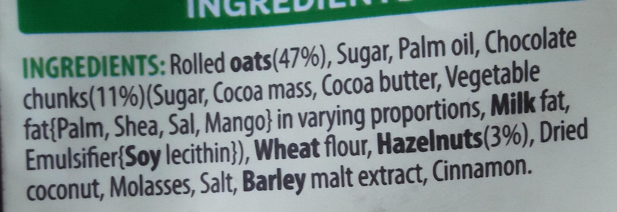 Crunchy Nut - Glorious Oat Granola - Ingredients