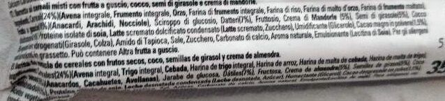 Special K Protein Cereal Bar - Ingredients