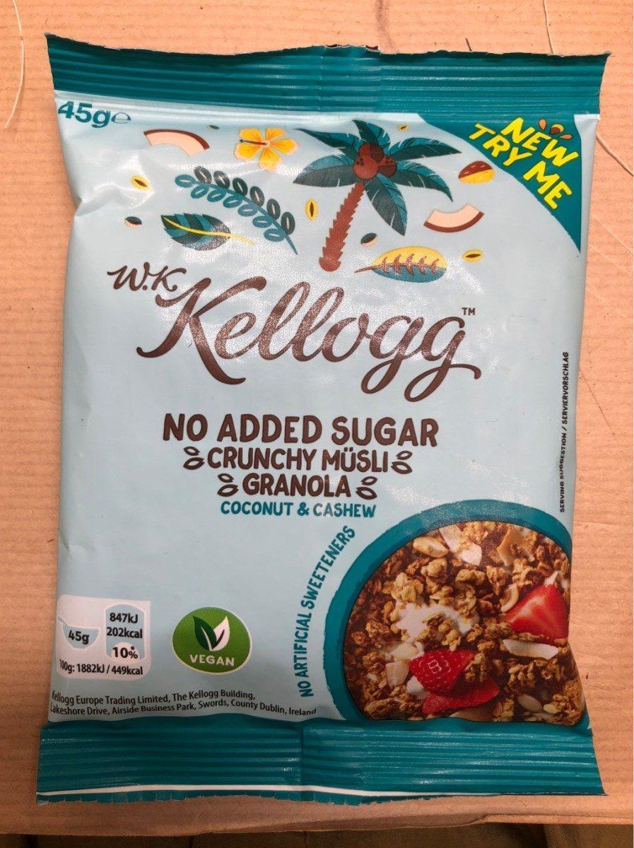 Crunchy müsli granola noix de coco et cacahuètes - Produto - fr