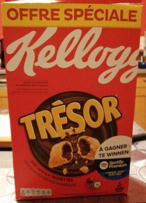 Céréales Trésor Kellogg's Chocolat Noisettes - Product - fr