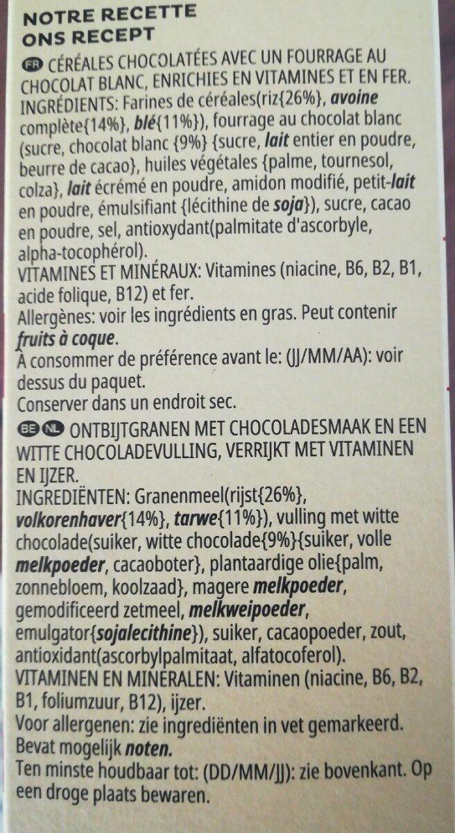 Trésor duo choco - Ingredienti - fr