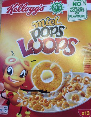 Miel pops loops - Producte