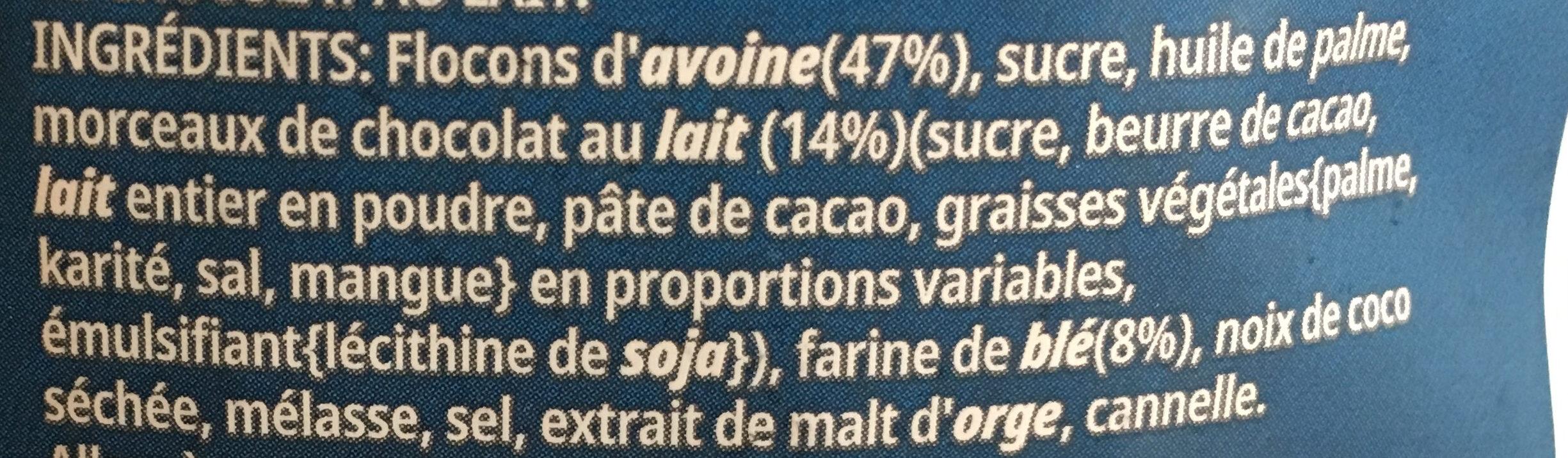 Céréales Extra Kellogg's Chocolat au Lait - Ingrediënten - fr