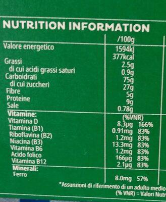 Cocopops - Informations nutritionnelles - it