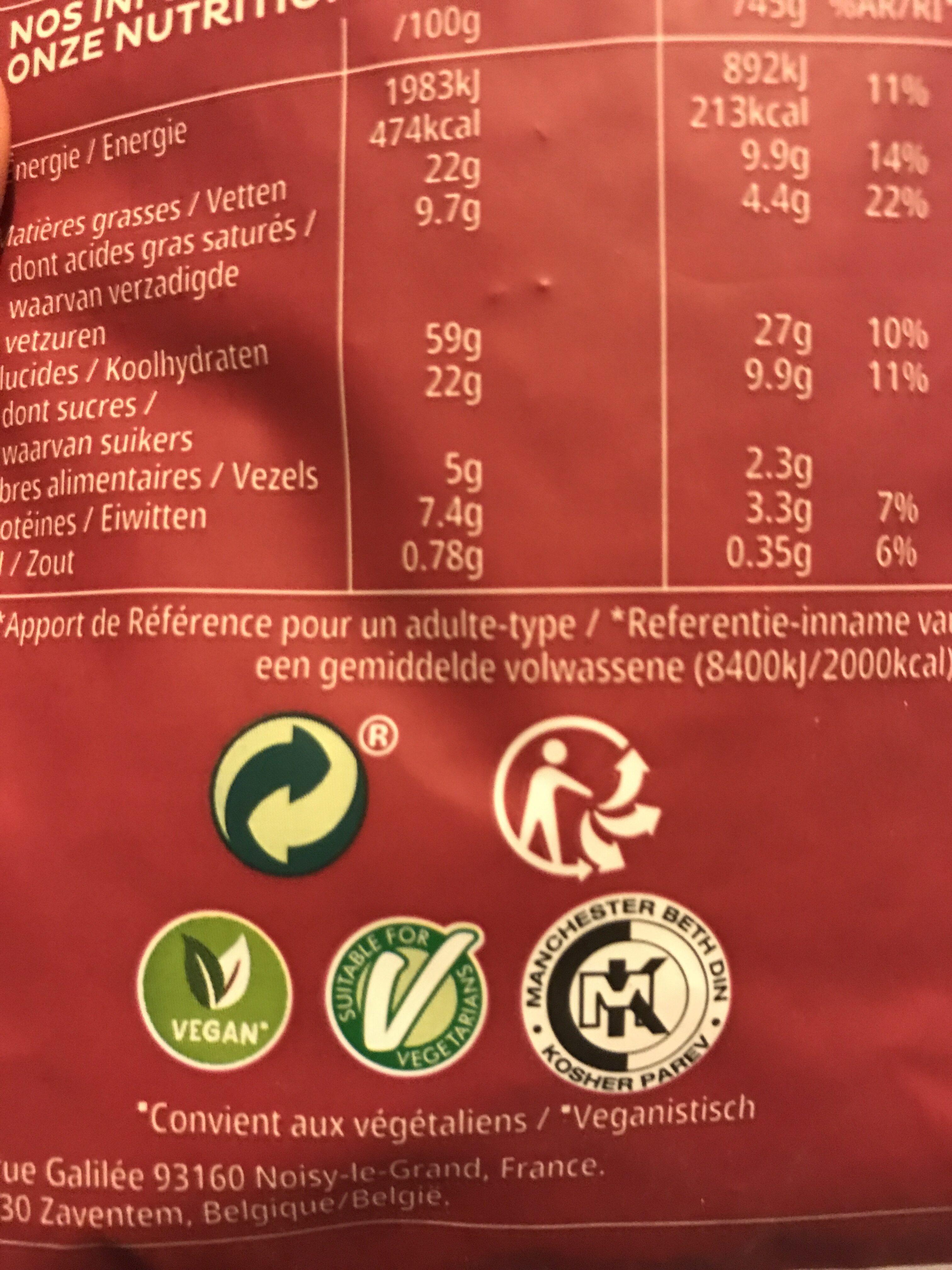 Kelloggs extra aux 3 fruits rouges - Istruzioni per il riciclaggio e/o informazioni sull'imballaggio - fr