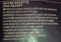 Céréales Extra Kellogg's Choco Noir Pistaches - Ingrediënten - fr