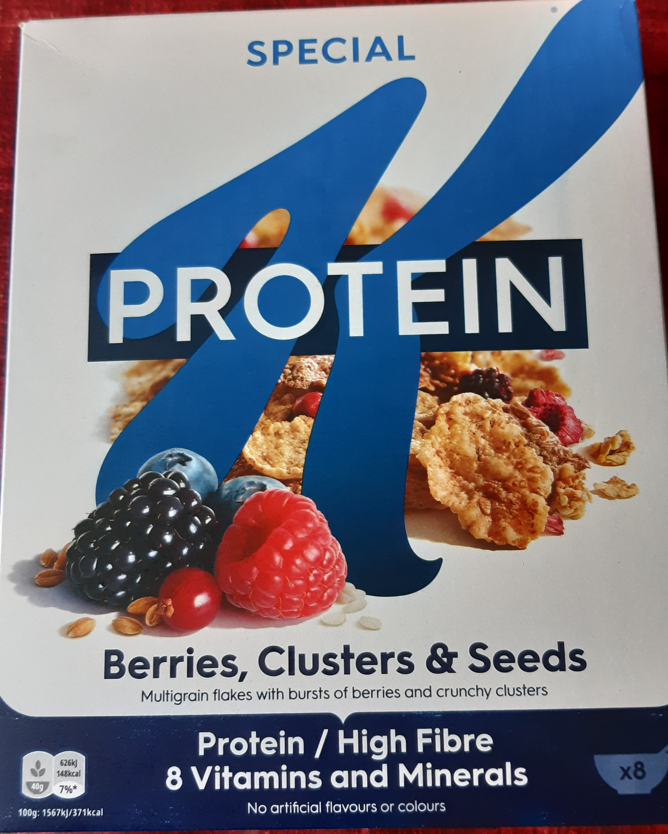 Special K Protein Berries, Clusters & Seeds - Product - fr