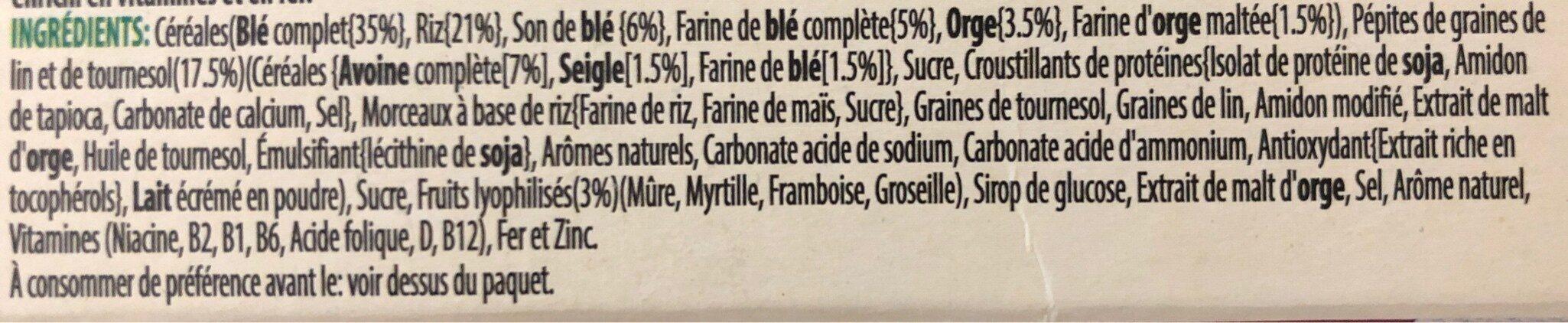Special K Protein - Ingredienti - de
