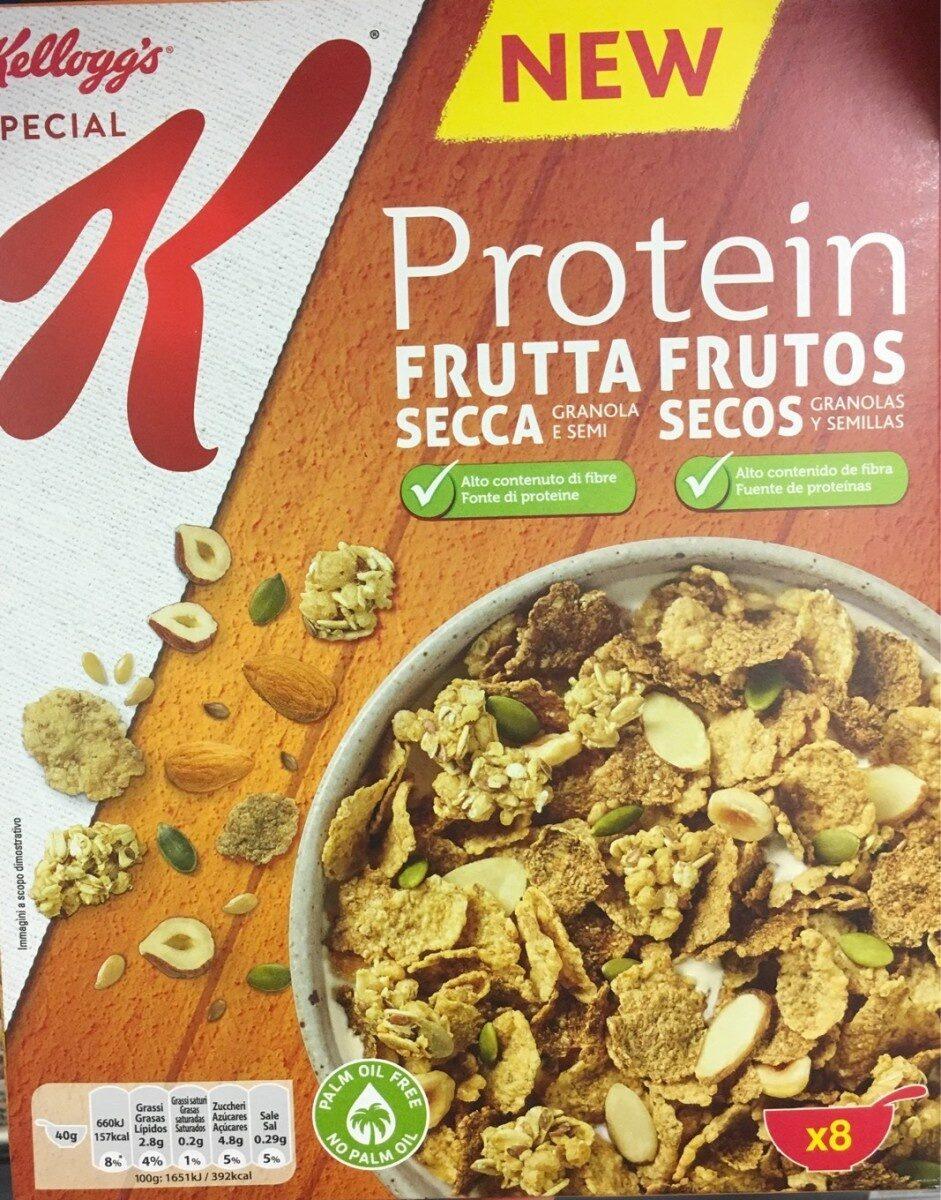Protein cereales con frutos secos, granolas y - Produto - it